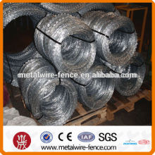 Fios de ferro fios galvanizados