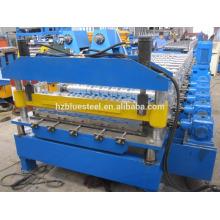China Manufacturer Metal Rib Roof Sheet Tile Making Machine , Galvanized Steel Aluminum Roof Tile R Panel Forming Machine