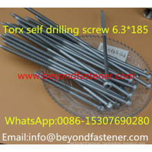 Torx Screw Roofing Screw 6.3*175