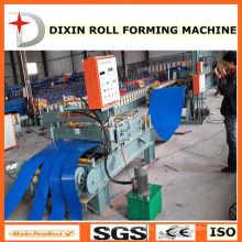 Máquina de corte e enrolamento de bobina de aço novo Design Dixin 2015
