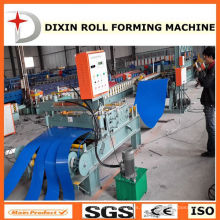 Máquina de corte e enrolamento de bobinas de aço Dixin 2015 New Design