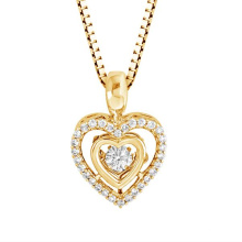 Micro Set 925 Pendentifs en diamants en argent Pendentifs bijoux