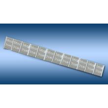 Pesas de la rueda Stick-on Pb 1/4 oz X12