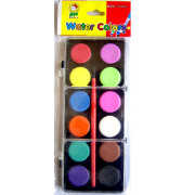12-color water color(sheet-solid)