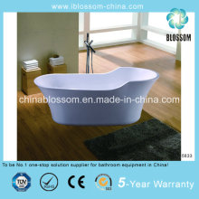 Hangzhou alta qualidade Oval autônomas banheira acrílica (BLS-5833 habitantes)