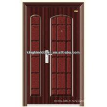 Meilleur prix un et demi porte feuille entrée portes KKJ-555 b de Chine marque KKJ