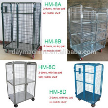 2015 commercial washing trolley, all kinds wheeled laundry carts,hot sale wheeled laundry trolley