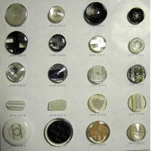 New design fashion handmade resin buttons wholesale