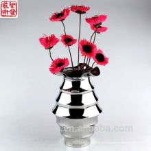 2016 New Stainless Steel Abstract Modern Flower Vase Home Decoration
