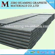High pure graphite tube /pipe manufacturer in china as request