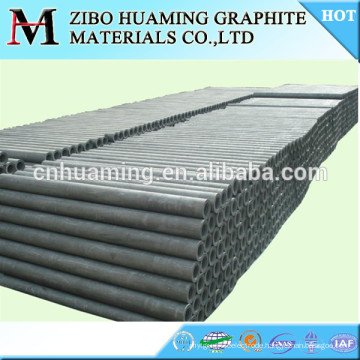 High purity graphite pipe