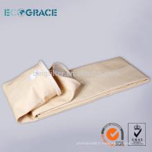 Micron Acrylic Bag Filter pour poussière de ciment