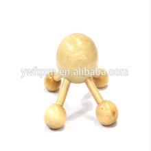 Mini masajeador de madera Handy Head de alta calidad