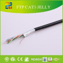 FTP Cable Cat5e avec câble FTP 24AWG