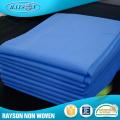 Matéria têxtil material não tecida médica de pano da tampa de cama do hospital da loja de Alibaba