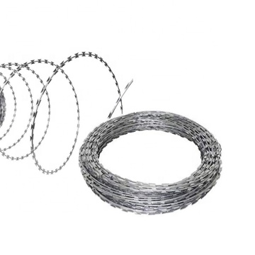 Galvanized Concertina Razor Barbed Wire Coils