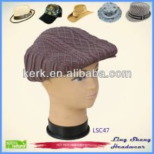 LSC47, regalo promocional en el sombrero hecho punto invierno invierno llano