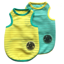 2 Pcs Pet Dogs Breathable Mesh Tank Top