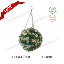 "11"" Plastic Hanging Craft Christmas Ball Gift Christmas Decoration"