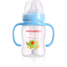 7oz Wide Neck PP Bottle For Baby Feeding