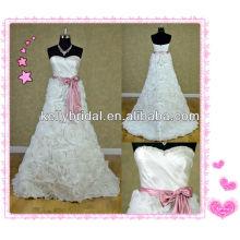 Loja personalizada de vestidos de casamento / atacado