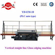 Nova condição 10 motores linear moagem máquina de vidro