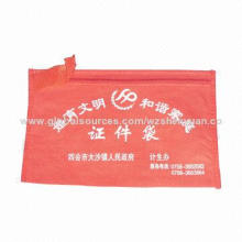 Red small nonwoven bag