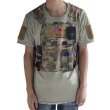 Wolf Slaves Tactical Sport T-Shirt Military Python Camo Men T-Shirt