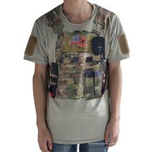 Lobo escravos esporte tático camiseta Python militar Camo homens t-shirt