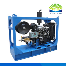 Machine de nettoyage de drain diesel 500bar