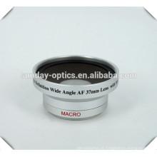 Lente de câmera de alta qualidade 37mm lente grande angular UV49 0.45X
