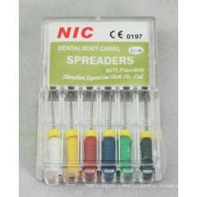 Niti Spreaders for Dental Use
