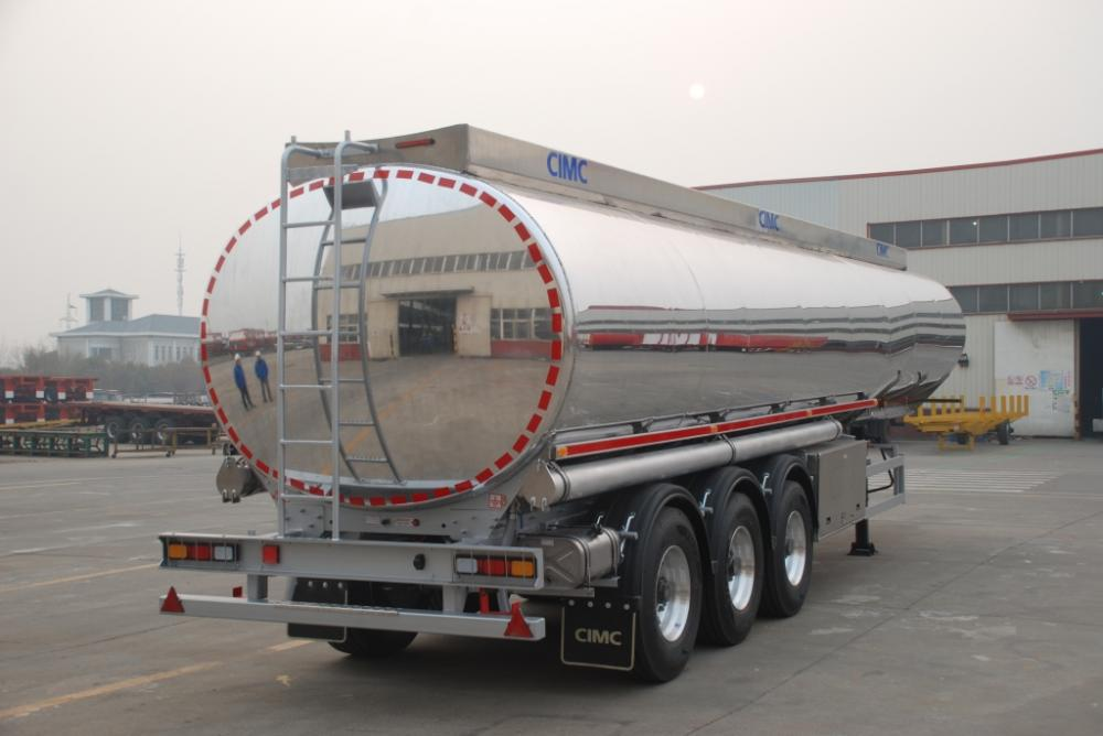 Rr Aramco Alu Alloy Fuel Tank Semi Trailer