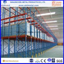 Conduite pratique dans les racks pour le stockage de l'entrepôt (EBILMETAL-DR)