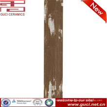 foshan new design porcelain glazed wooden tile