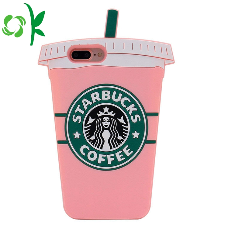 Starbuks Coffee Bottle Silicone Phone Case 7
