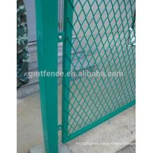 Уплотненный металлический забор