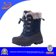 Fashion Plaid Kids Winter Snow Boots (CS-05)