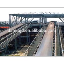 China supplier metallurgy industrial use heat resistant conveyor belt rubber belt