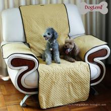 Protecteur anti-dérapant protecteur de couverture de sofa de chien de bout droit imperméable de chien