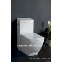 EAGO Square Ceramic One piece Toilet with UPC and CUPC