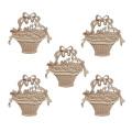 Holzapplikations-Onlays Holzdekormöbel Onlays holzgeschnitzte Onlays