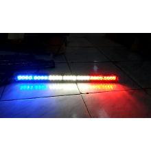 """12.2 """"Advertencia de emergencia Asesor de tráfico Vehículo Led barra de luz estroboscópica 12W 12V DC Cubierta de tablero de techo para autos, techo con diferentes colores"""