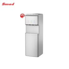 Compresor de enfriamiento de pie dispensador de agua de vidrio con refrigerador