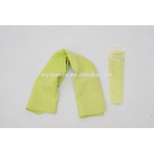 2015 new products sport absorbent sweat ice towel pva cooling towel