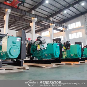 Silent 40kw/50kva diesel generator price powered by engine