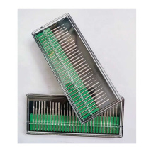 30PCSdental Diamond Bur Set Drill Bit Router Carbide