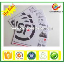 230 g gestrichenes Duplexpapier mit grauer Rückseite