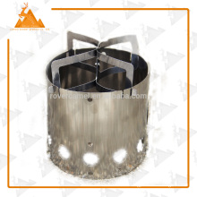 Portable Stainless Steel Stove Outdoor Stove Camping Outdoor Picnic Wood Stove Camping