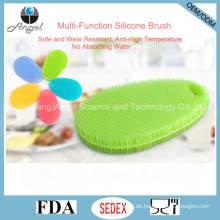 Multifunktions-Silikon-Reinigungsbürste Waschbürste Sb14